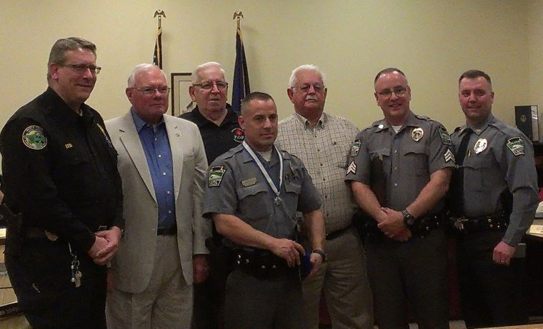Columbia police give, and receive, awards for service