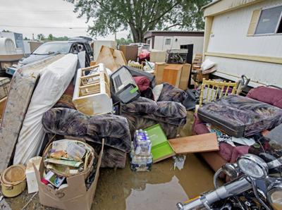 Flooded mobile home park owners receiving damage money from pipeline