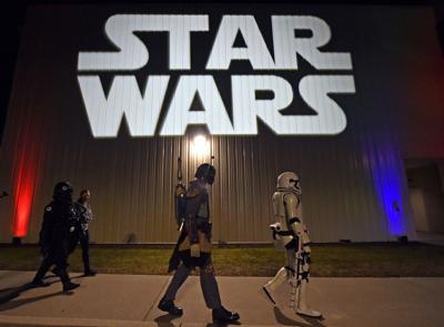 Star Wars Fans at Rise of Skywalker-Penn Cinema