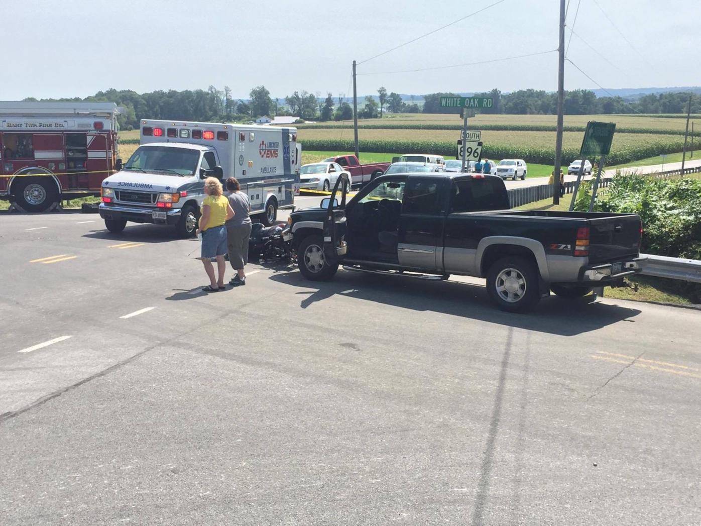 Paradise Township motorcycle crash