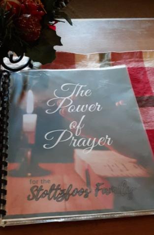 Linda Stoltzfoos prayer book 122020