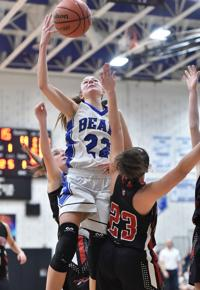 Elizabethtown's Marena Lonardi reaches 1,000 career points, helps first-place Bears beat Lebanon <p> data-mce-src=</p><p><strong>Solanco 47, Cocalico 34</strong>— In a battle of a pair of hot teams, the Lady Mules went 27-17 to open the game and then held off the Eagles to remain alone in second place, just behind idle Lampeter-Strasburg.<strong>Aleksa Burger</strong>scored 10 points for Solanco, while<strong>Hanah Greenly</strong>(9 points on three 3's) and<strong>Corrie Lescoe</strong>(9 points) paced Cocalico, which had won four of its last five games. Solanco made it six wins in its last seven games, as<strong>Jess Cabrera</strong>chipped in with 8 points, giving her940career points.</p><p><strong>Donegal 62, Octorara 12</strong>—<strong>Kiera Baughman</strong>(18 points),<strong>Cheyenne Livelsberger</strong>(16 points) and<strong>Summer Steffy</strong>(13 points) keyed the Indians, who raced out to a 42-6 lead at the break.</p><p><strong>SECTION 4</strong></p><p><strong>Elco 31, Northern Lebanon 19</strong>— The Raiders made it five wins in a row, and Elco remained alone in second place, just behind idle — and undefeated — Lancaster Catholic.<strong>Julia Nelson</strong>led the way with 11 points for the Raiders, who seized control for good with a 19-11 second-half clip.<strong>Zara Zerman</strong>had 14 of the Vikings' 19 points, as NL saw its 2-game winning streak come to a close.</p><p><strong>NONLEAGUE</strong></p><p><strong>Fleetwood 43, Manheim Central 32</strong>— One night after<a href=