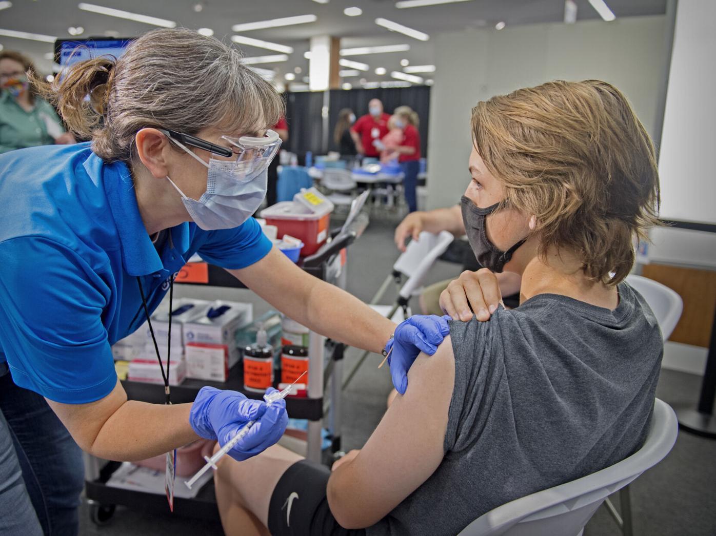 Mass vaccination center closing