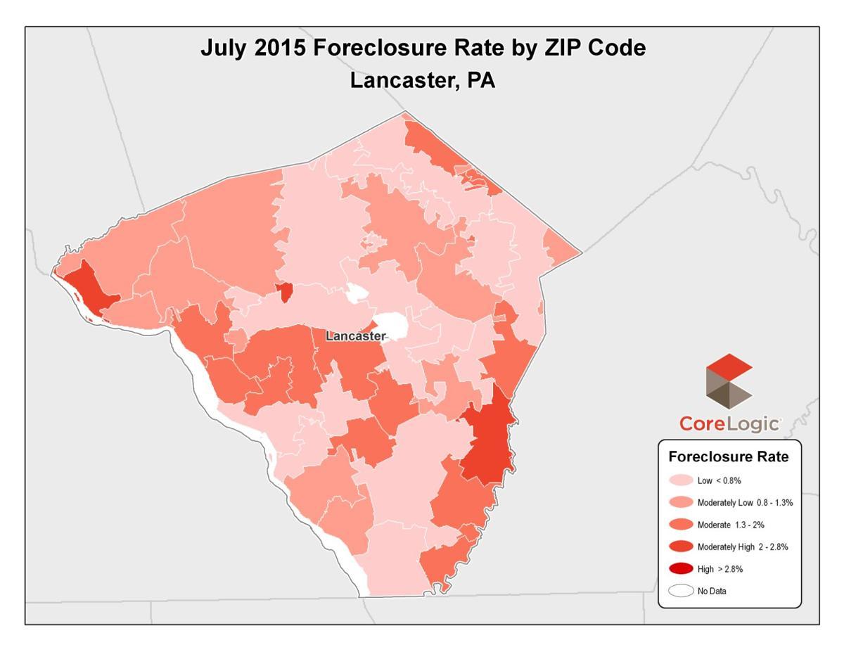 Mortgage Delinquencies And Foreclosures In Lancaster County Drop