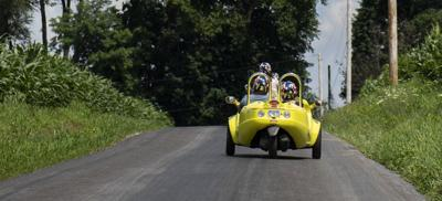Touring Lancaster County with Strasburg Scooters: what it's like to ride a 'scoot coupe' through farmland [photos + video]