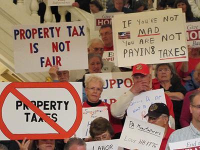 No property tax