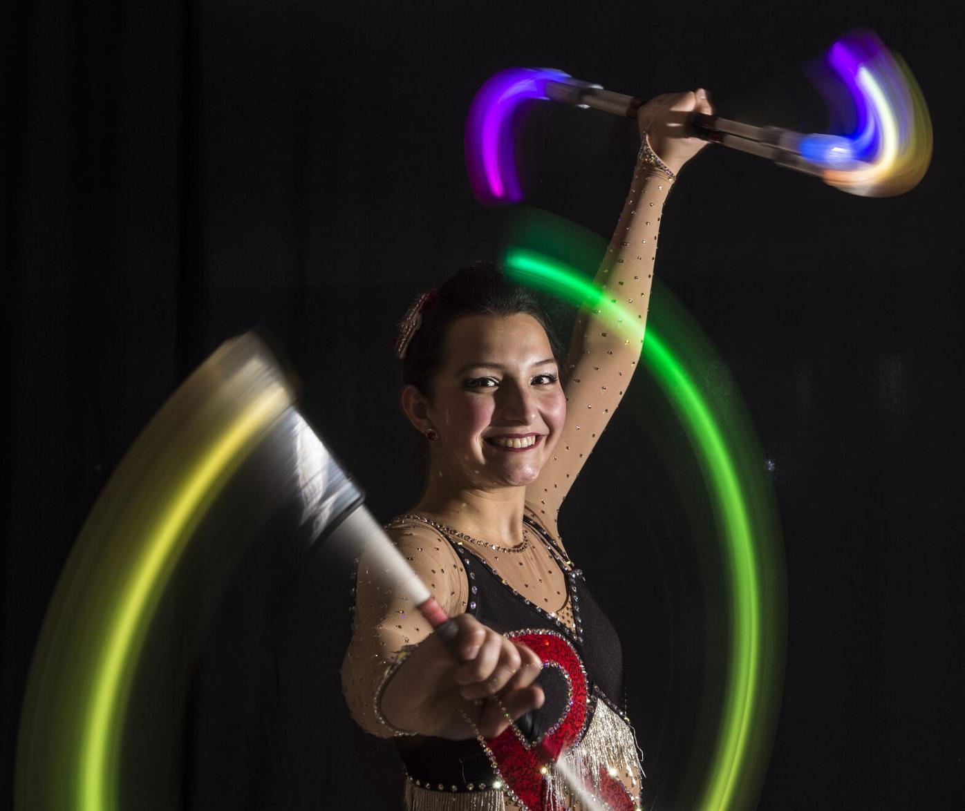 Pequea Valley Baton Twirler Emilie Thibeault