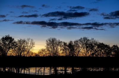 Conestoga River sunrise