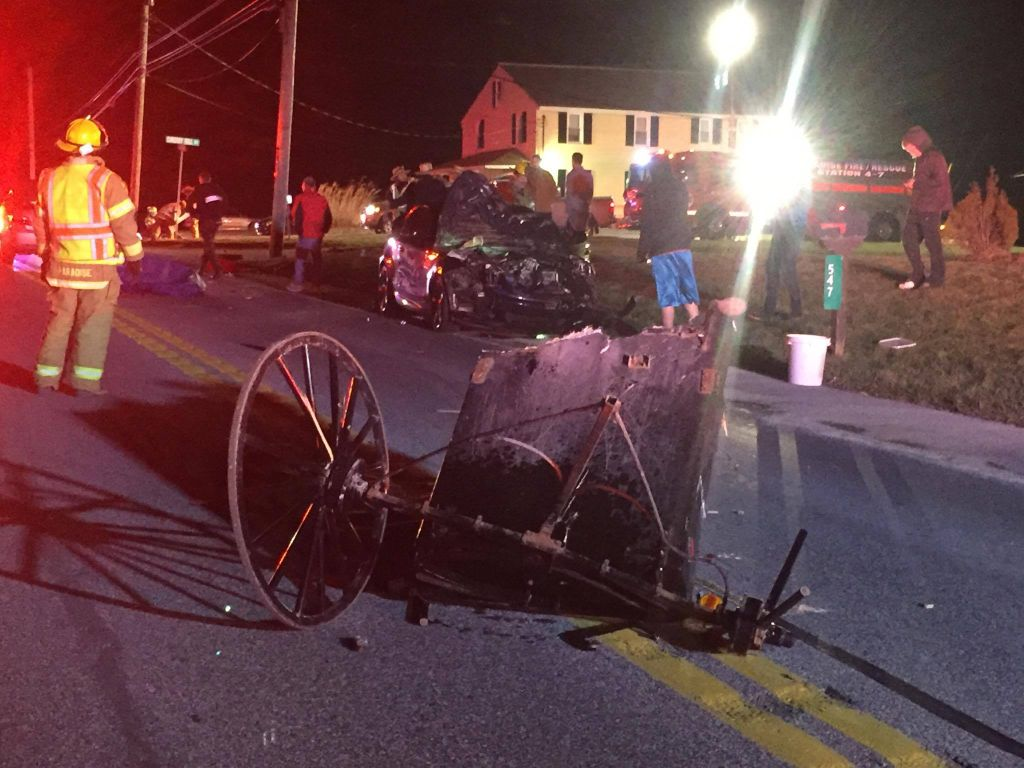 2 injured in horse and buggy crash on Route 741 in Paradise Twp. | Local News | lancasteronline.com