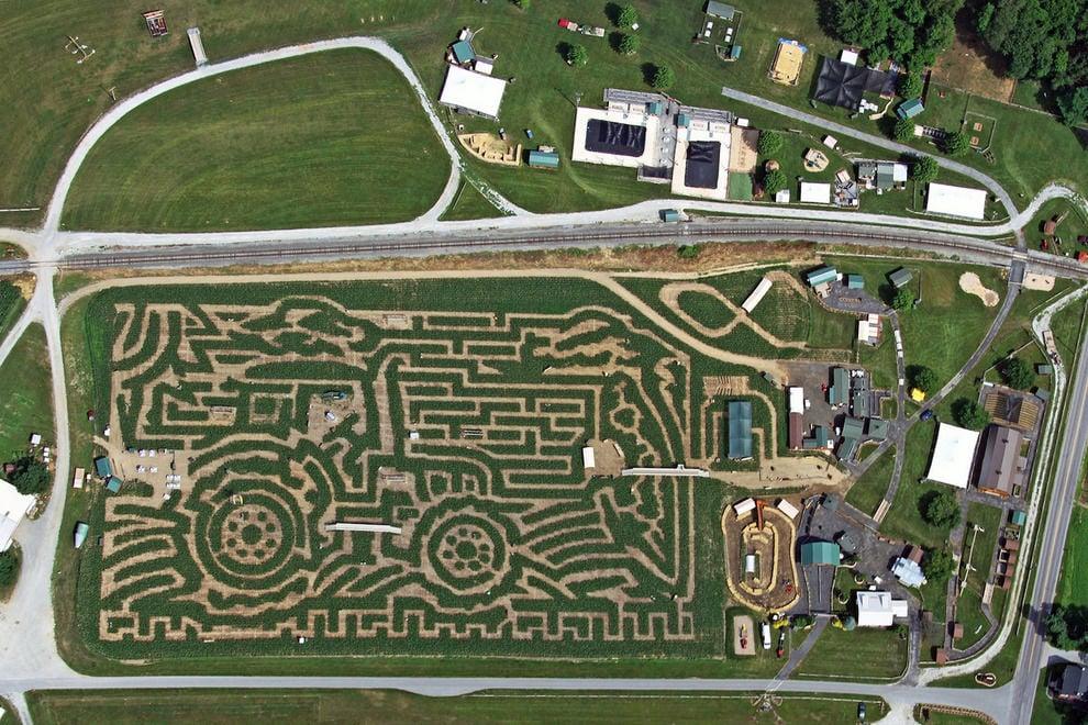 Cherry Crest S Corn Maze In The Running For Best In