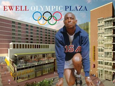 Ewell Olympic Plaza