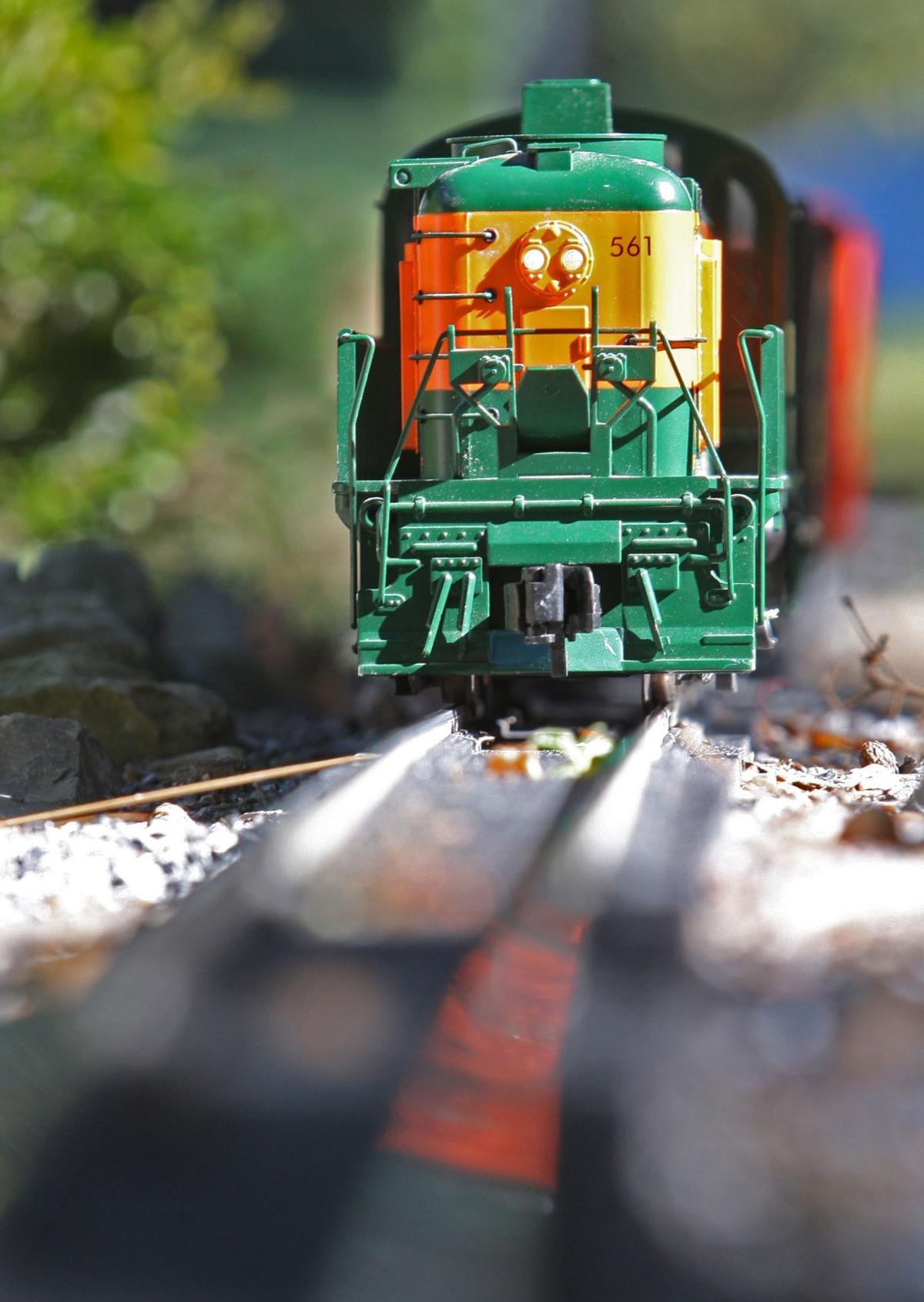 eight u0027garden railroads u0027 including this manheim township man u0027s