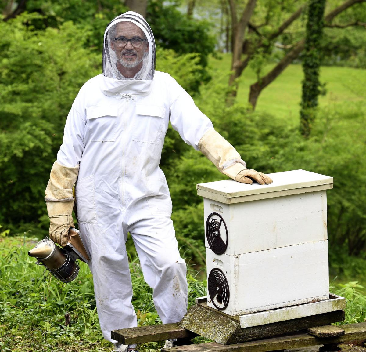Brian Tate and his Bees