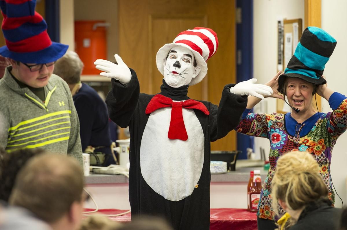 dr. seuss is celebrated at milanof-schock library in mount joy