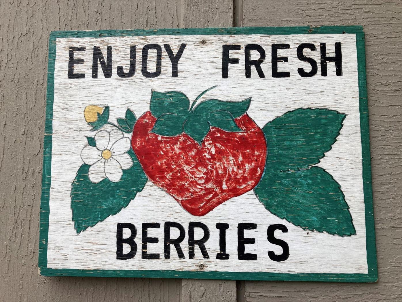 Strawberry Sign