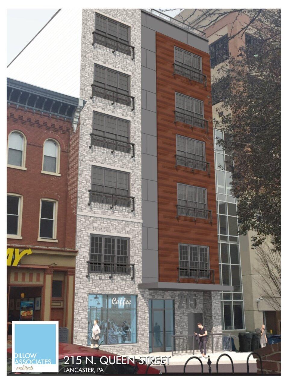 rendering 215 N. Queen St.