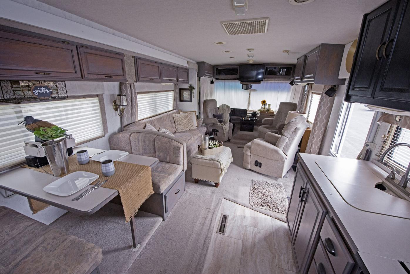 Anastasia Laudermilch and motorhome