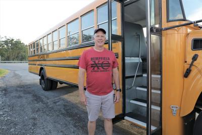 Curt Rogers, teacher turned bus driver 1