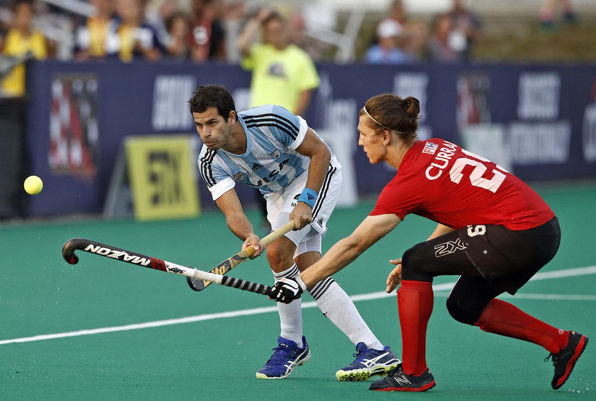 Argentina vs Canada PanAm Cup gold medal game