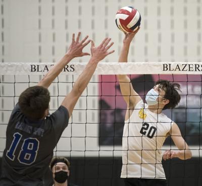 Garden Spot vs Lancaster Mennonite-LL Boys Volleyball