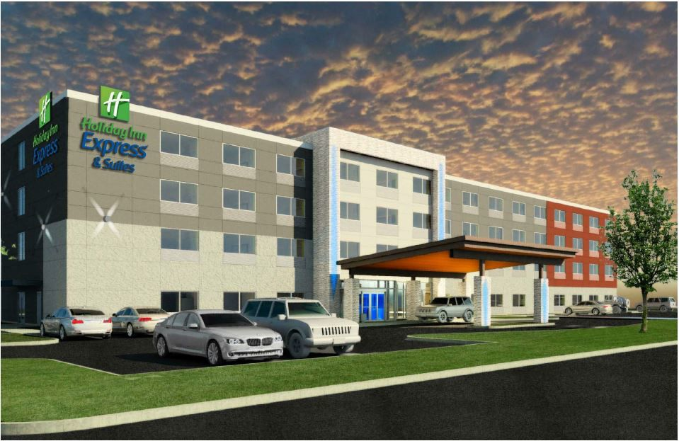 Holiday Inn Express in Mount Joy rendering