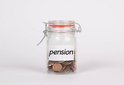Saving money for pension