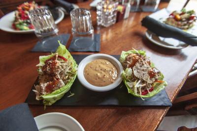 Annie Baileys Thai-Chicken Vegan restaurant week vegfest.jpg