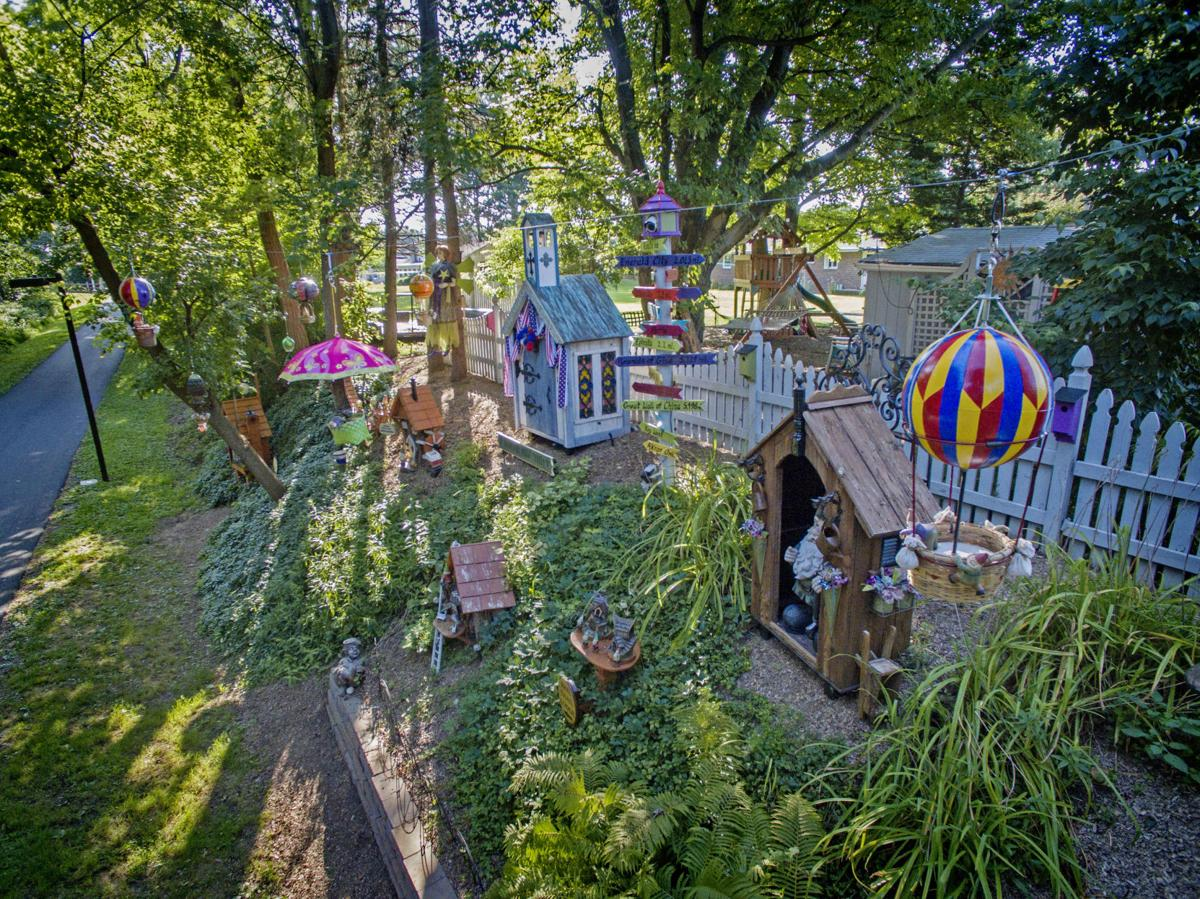 He S The Man Behind The Gnome Village In Akron On The