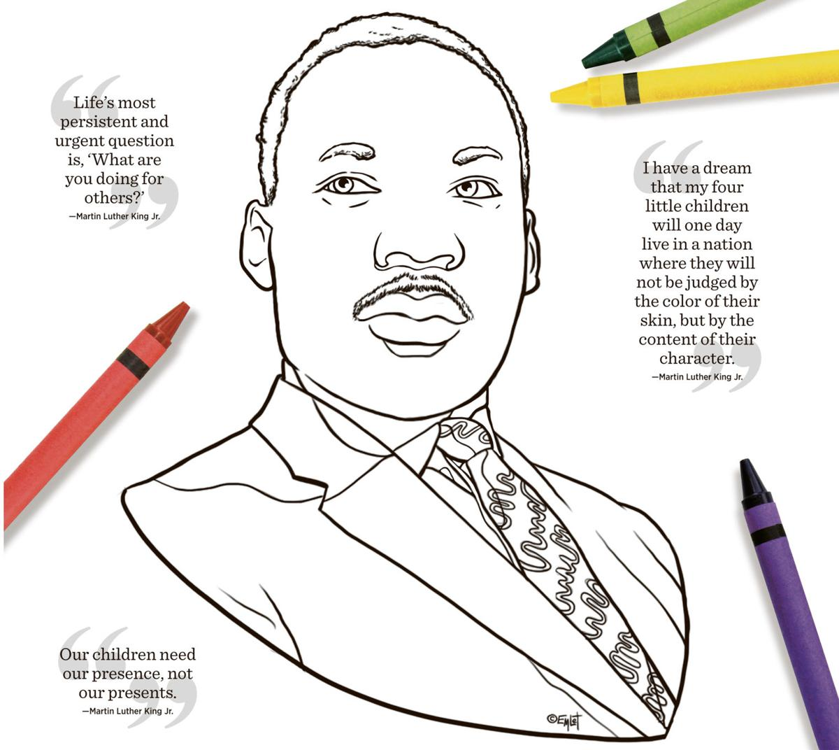 For Martin Luther King Jr Day Childrens Activities Planned In