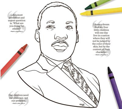 For Martin Luther King Jr Day Children S Activities Planned In
