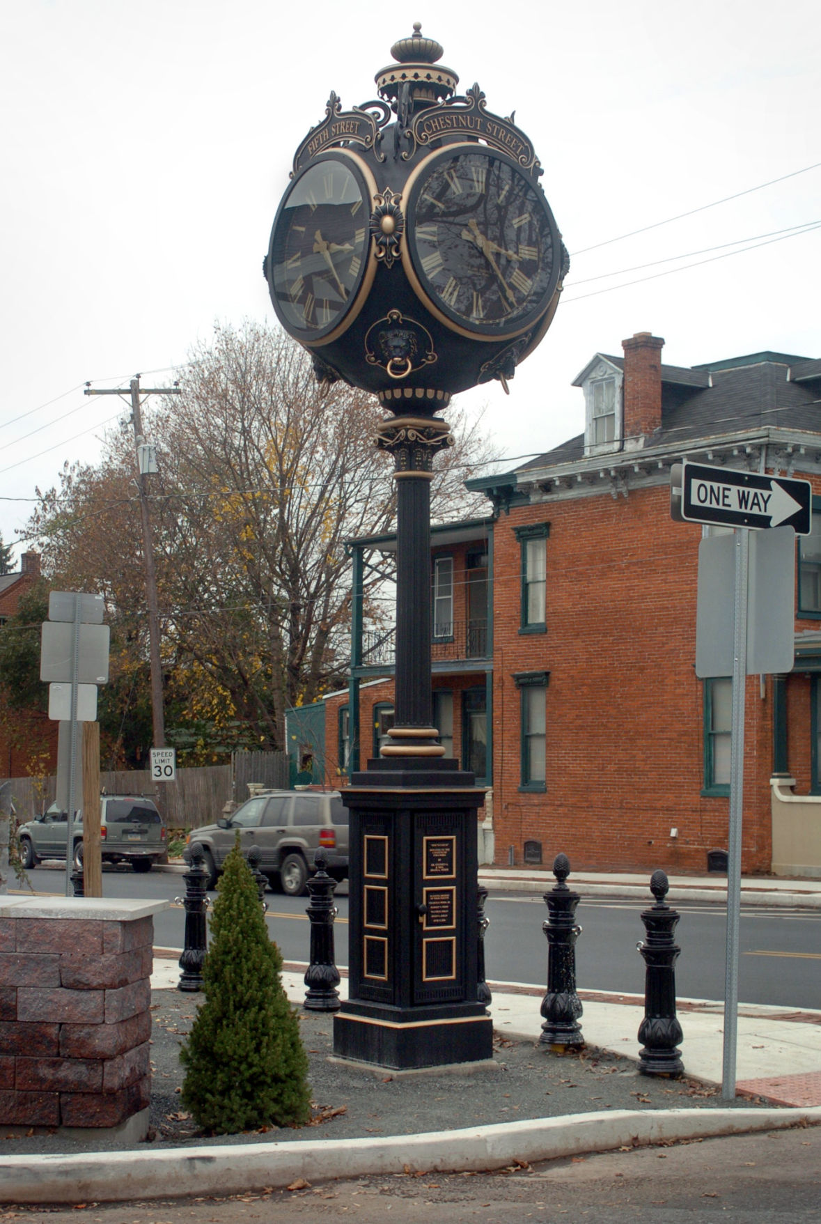 town clock columbia 2