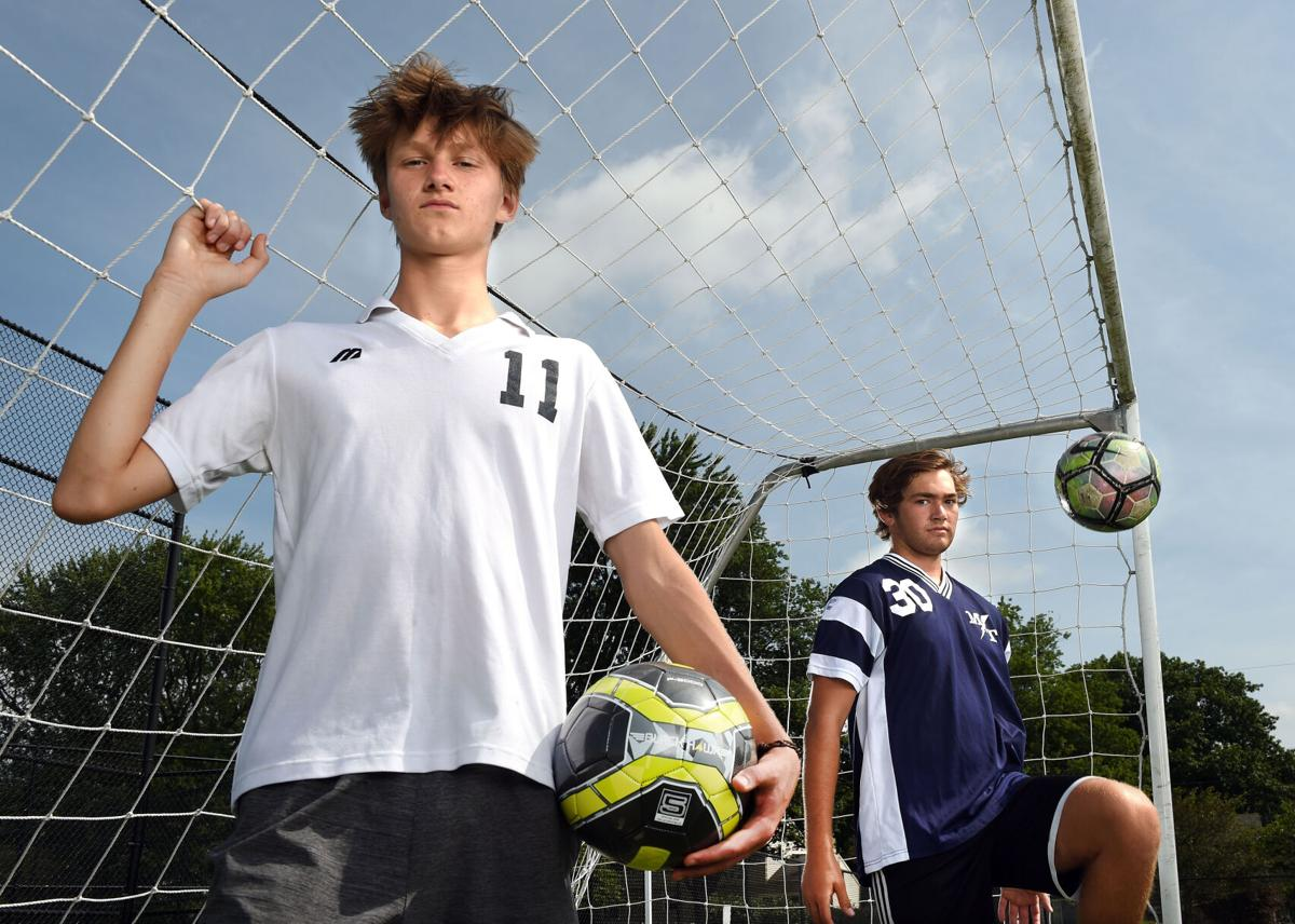 Moses Beers and Shane Mundorf-Manheim Twp. Boys Soccer