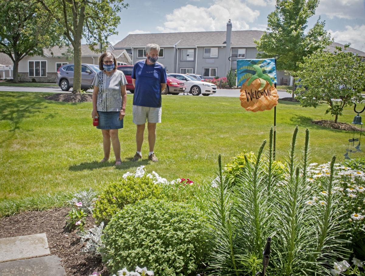 Homestead Village garden tour