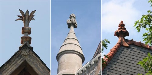 finials fact and fiction - Roof Finials