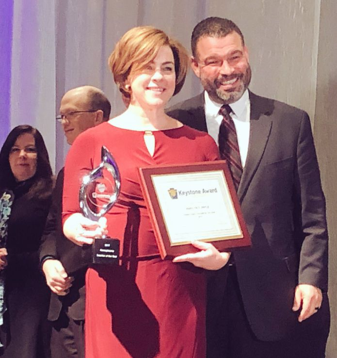 Marilyn Pryle 2019 PA Teacher of the Year