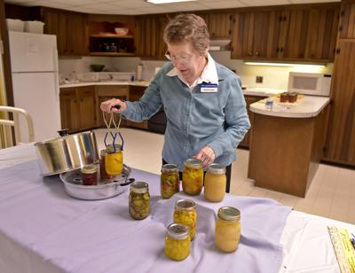 Martha Zepp canning