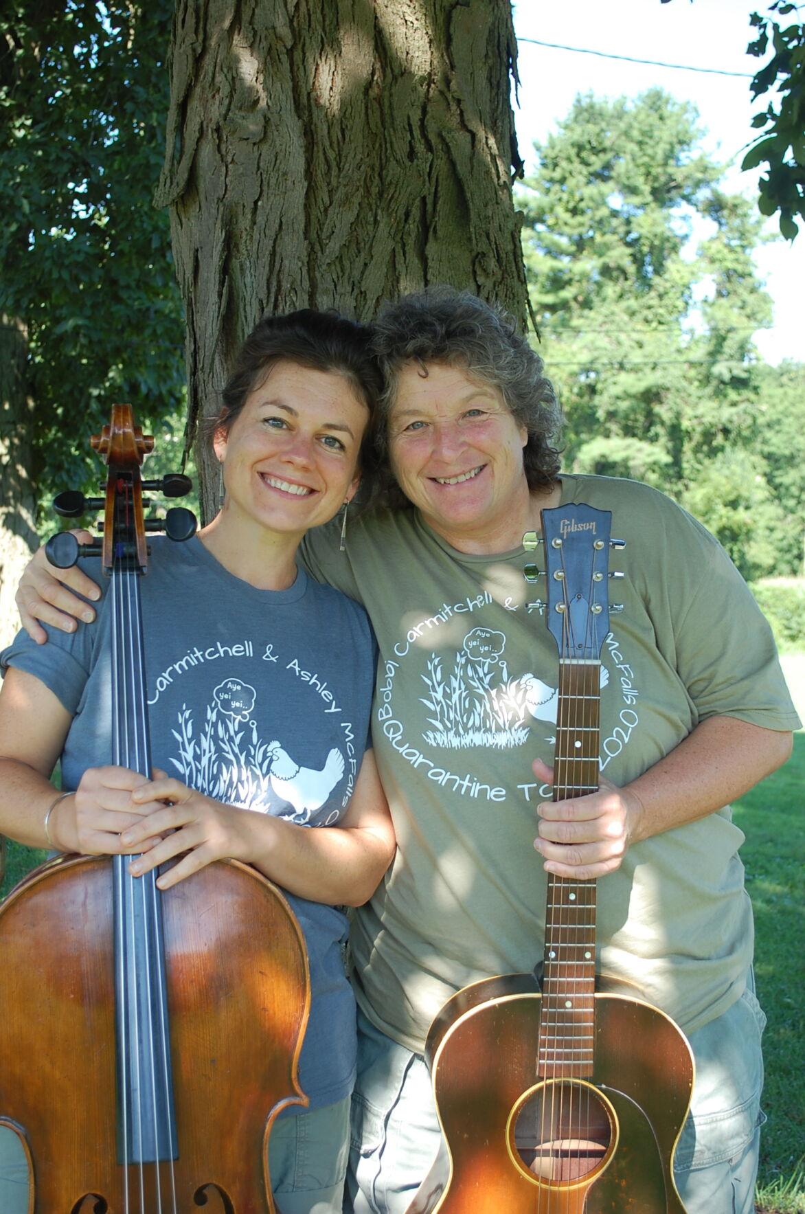 Bobbi Carmitchell and Ashley McFalls