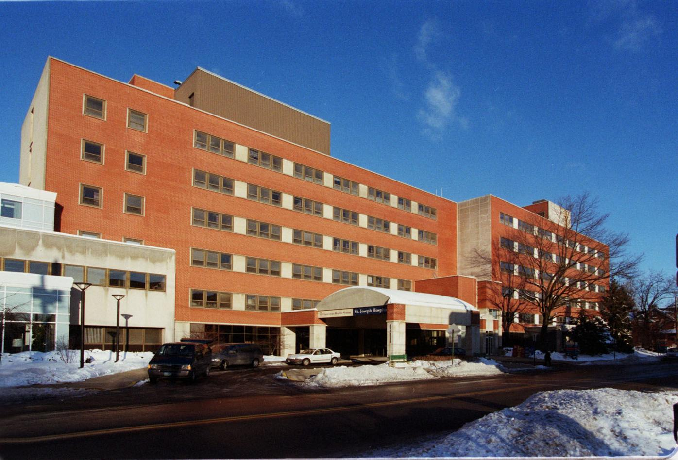 St. Joseph Hospital in 2000 file photo