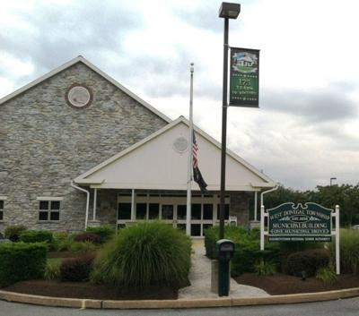 West Donegal Township municipal building stock photo