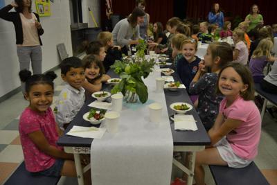School garden Conestoga Elementary