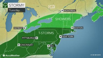 Stormy weather ahead for Lancaster County
