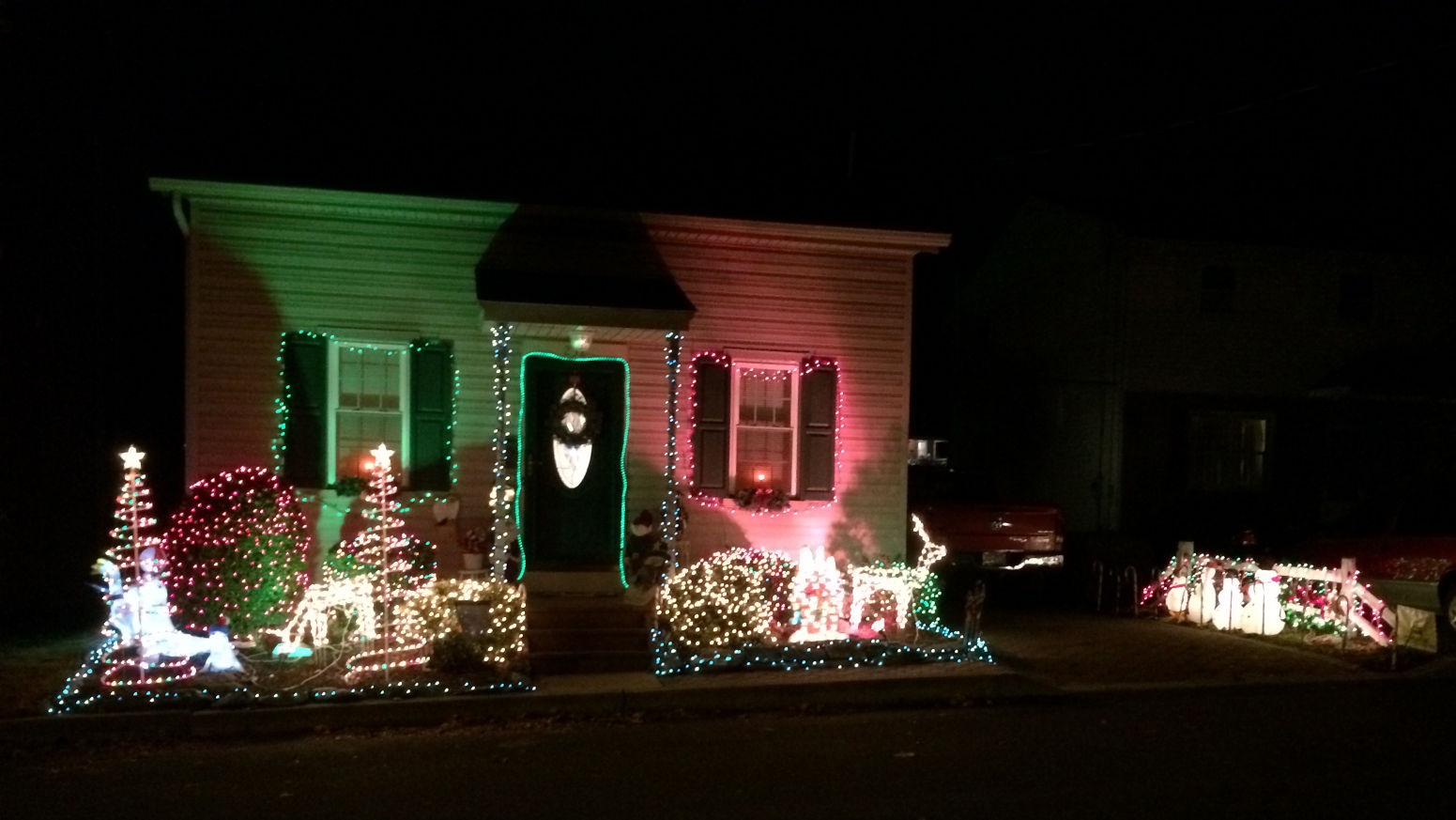 Map Lighting up Lancaster for the holidays
