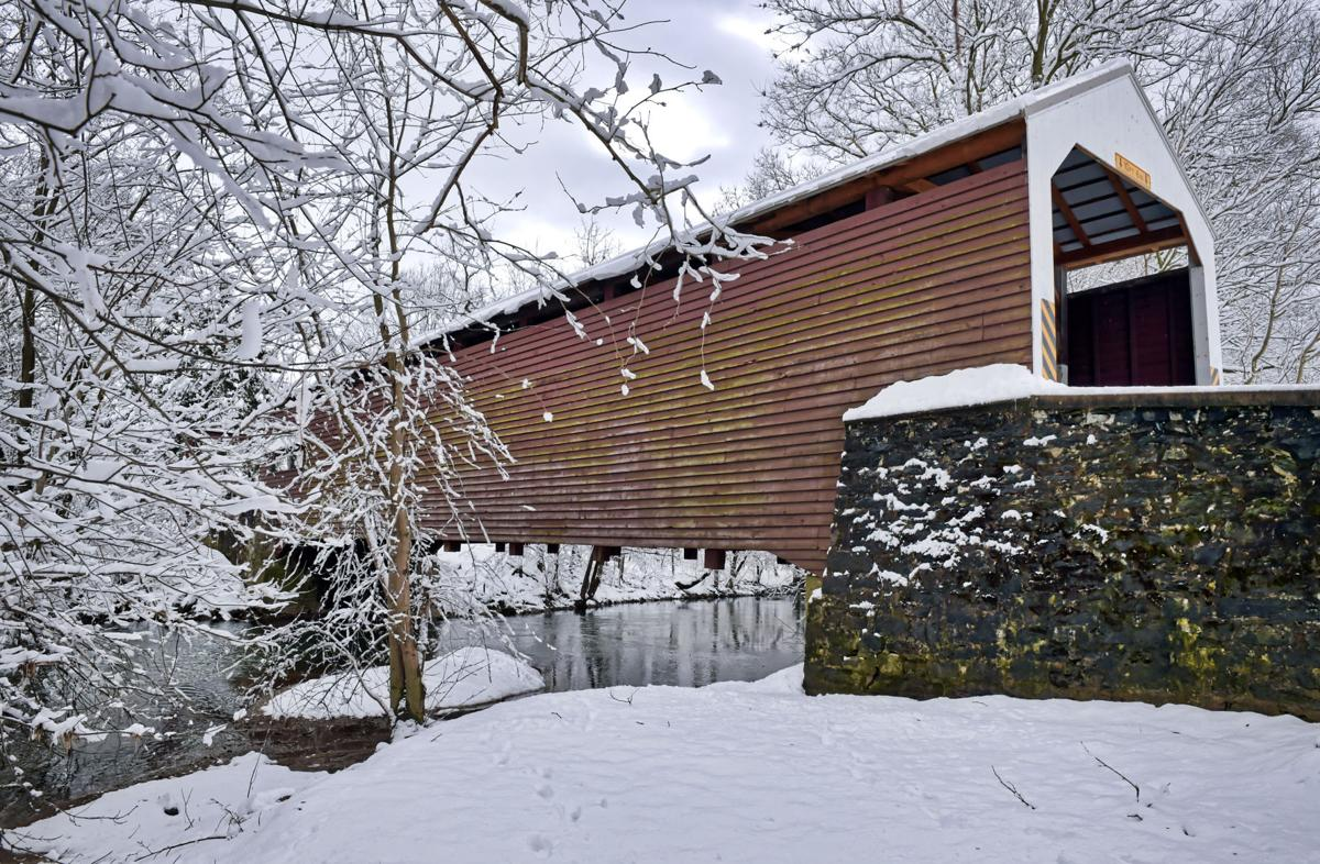Shenck's Mill Covered Bridge over Chiques Creek, near Salunga