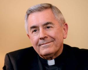 bishop gainer speaks on pope francis catholic social. Black Bedroom Furniture Sets. Home Design Ideas