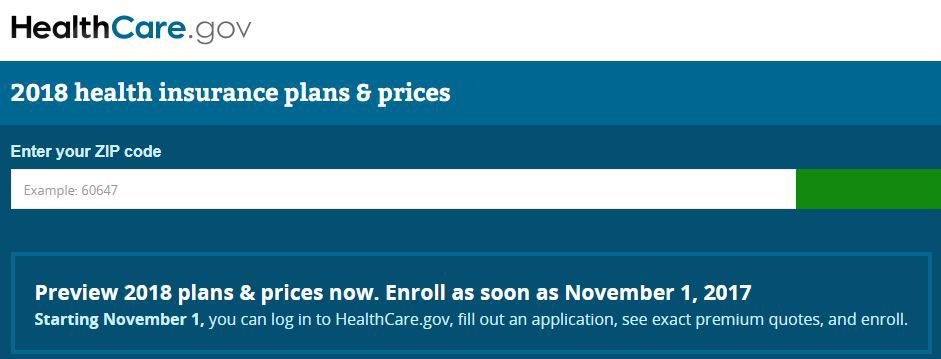 see 2018 healthcare.gov options