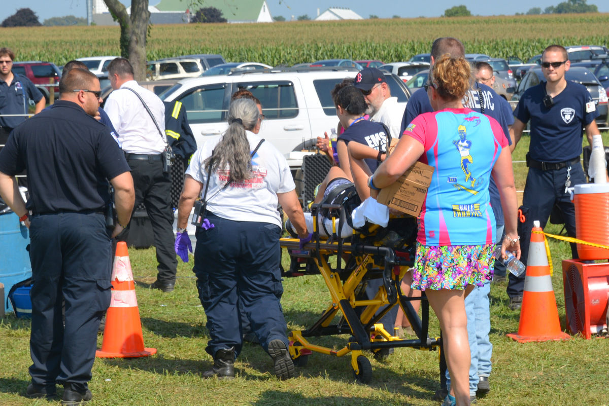 More than 50 runners treated for heat exhaustion at Bird-in-Hand half-marathon