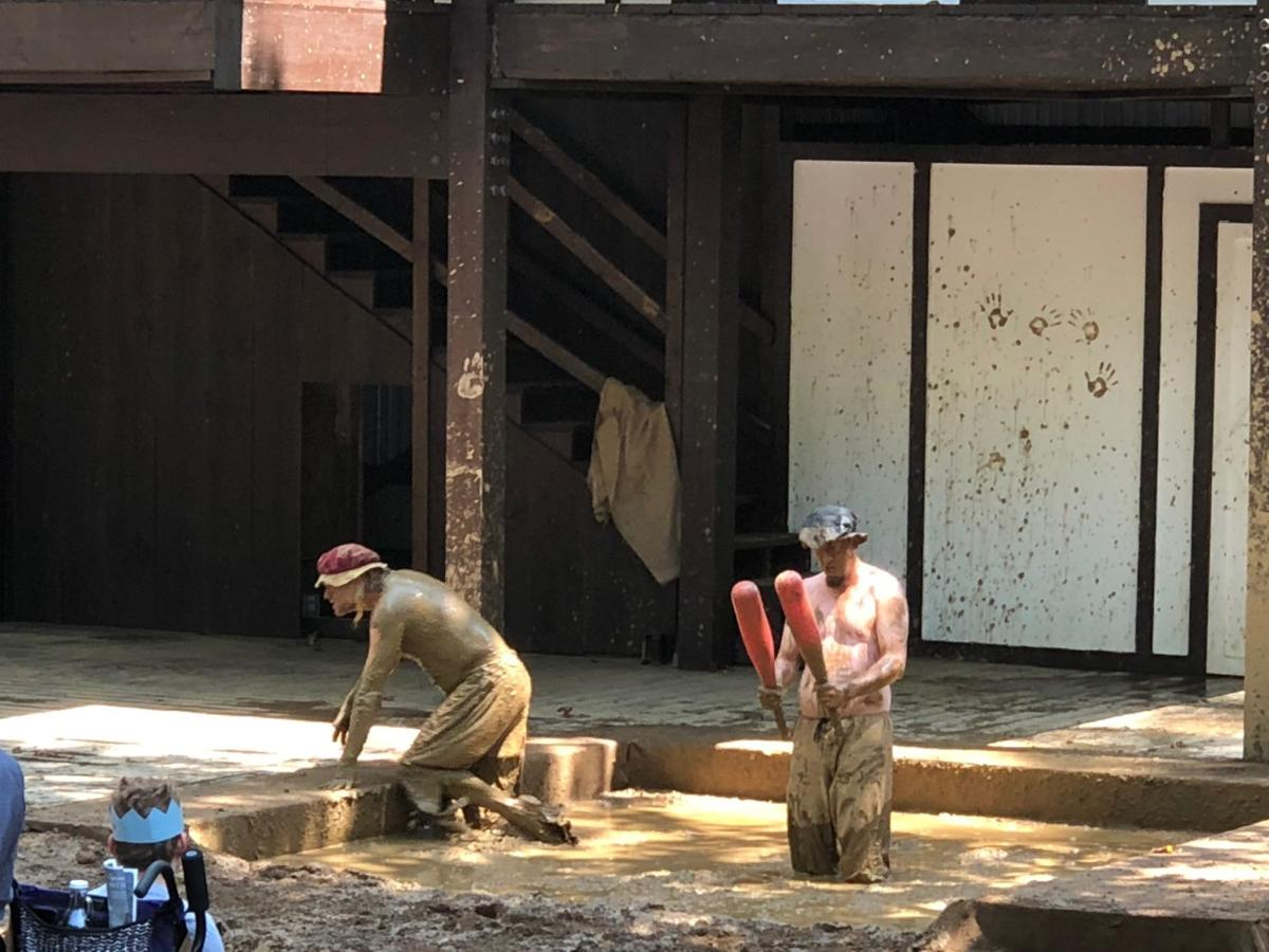 Mud Squad at the Renaissance Faire