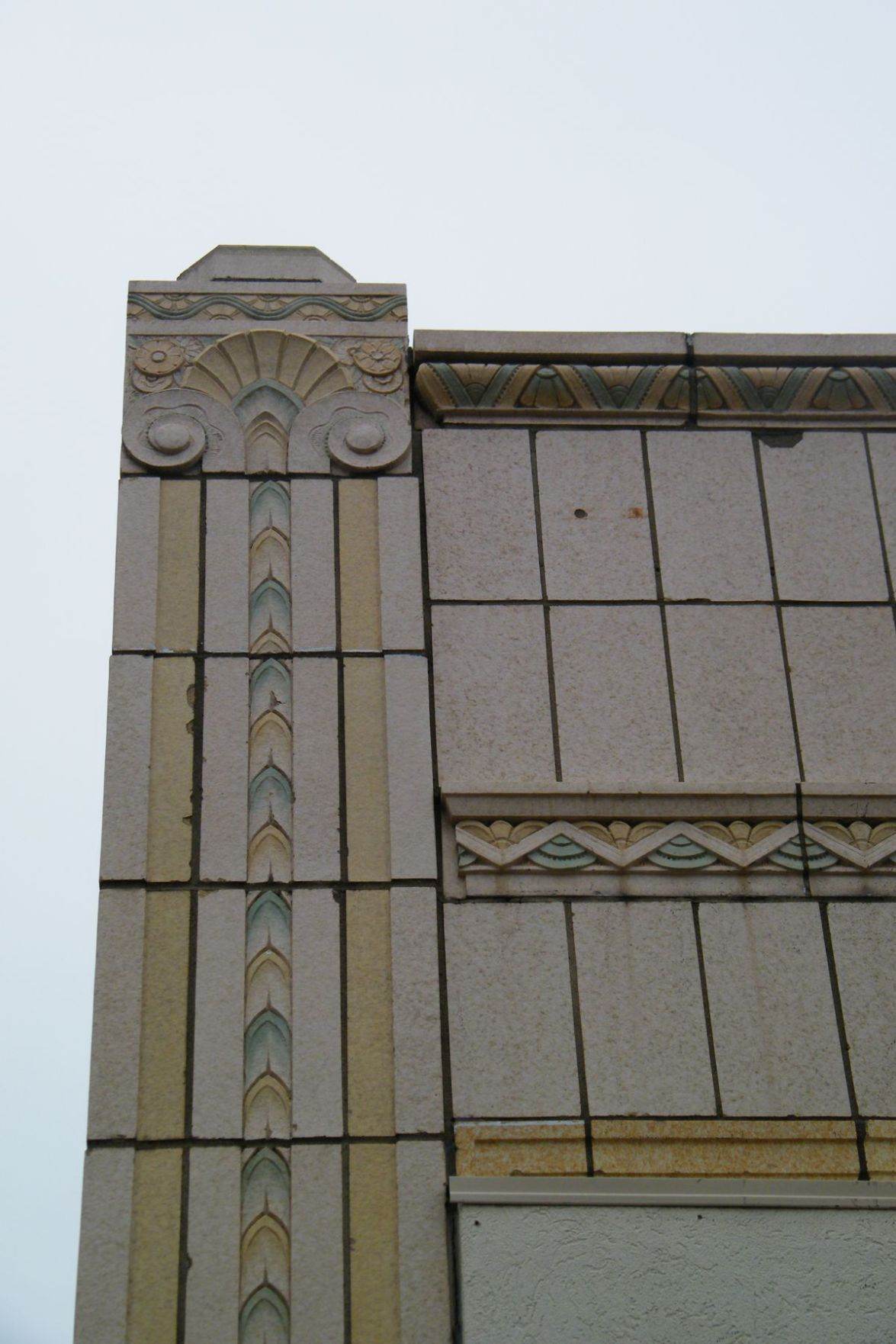 Architectural Art Deco Terracotta Drawings