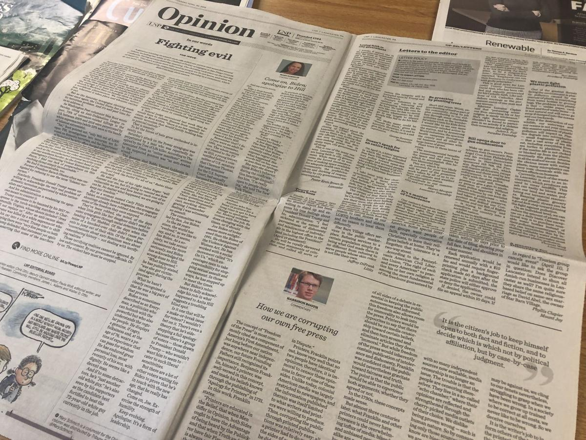 Opinion pages