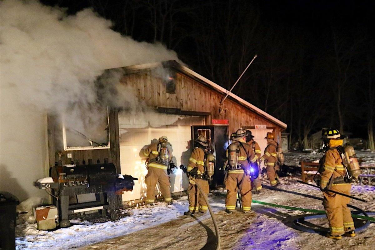 520 Drytown Road, Holtwood garage fire - Fire From Wood Stove Pipe Causes $65,000 Damage At Southern